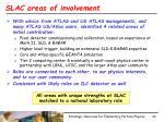 slac areas of involvement