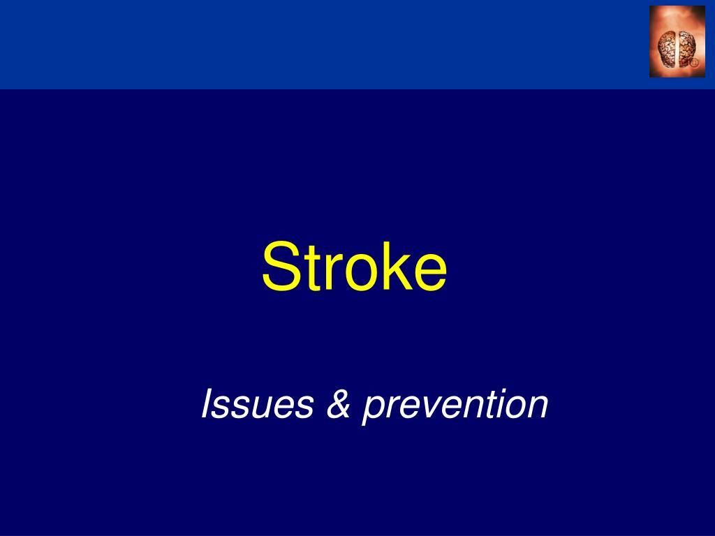 stroke l.