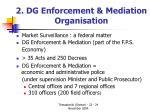 2 dg enforcement mediation organisation