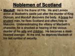 noblemen of scotland