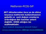 metformin pcos ivf35