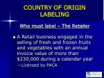 country of origin labeling6