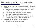 mechanisms of sound localization30