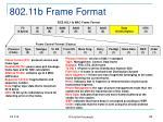 802 11b frame format