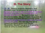 iii the story6
