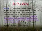 iii the story7