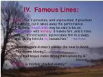 iv famous lines12
