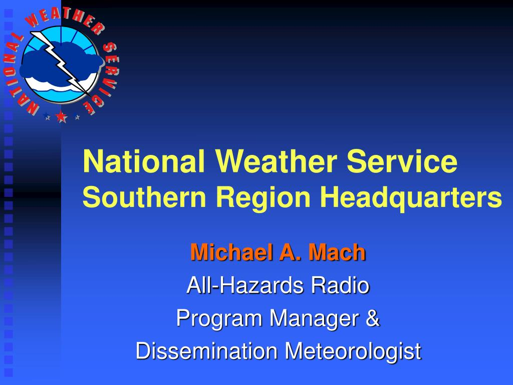 national weather service southern region headquarters l.