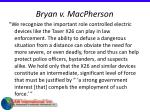 bryan v macpherson65