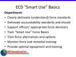 ecd smart use basics26