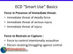 ecd smart use basics30