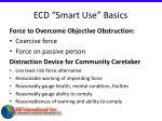 ecd smart use basics32