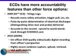 ecds have more accountability features than other force options13
