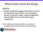 where some courts are going