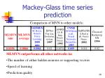 mackey glass time series prediction29