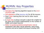 mlmvn key properties