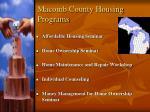 macomb county housing programs