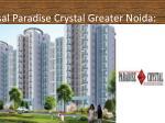 ansal paradise crystal greater noida
