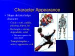 character appearance8