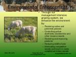 environmental enhancement