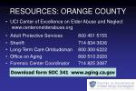 resources orange county