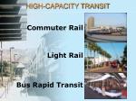 high capacity transit