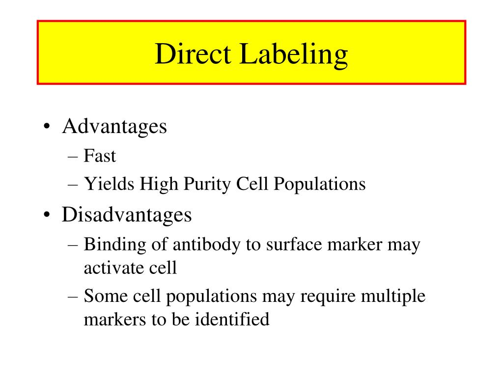 Direct Labeling