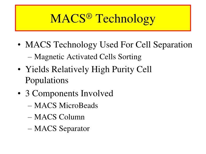 Macs technology