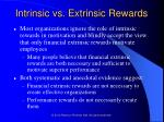 intrinsic vs extrinsic rewards46