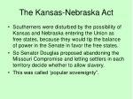 the kansas nebraska act29