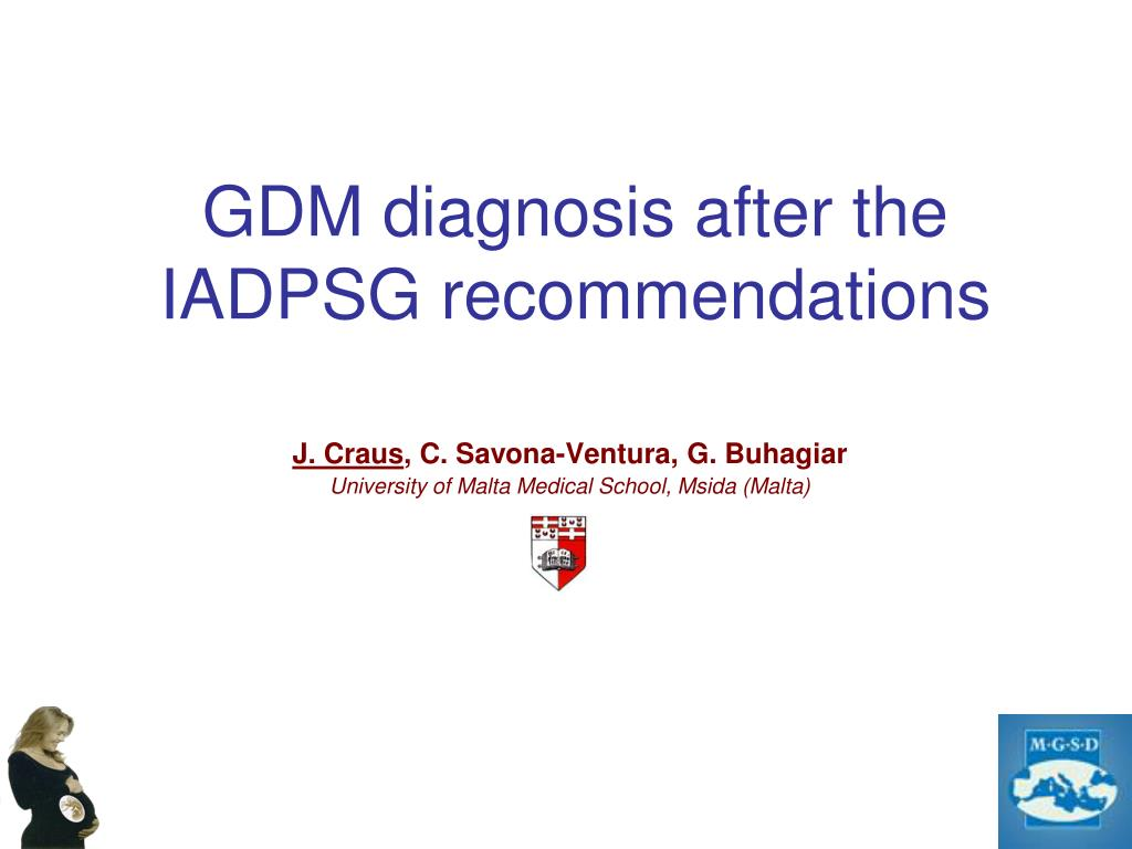 gdm diagnosis after the iadpsg recommendations l.