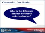 command vs coordination