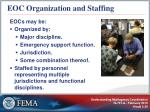 eoc organization and staffing