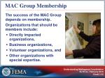 mac group membership