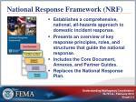 national response framework nrf