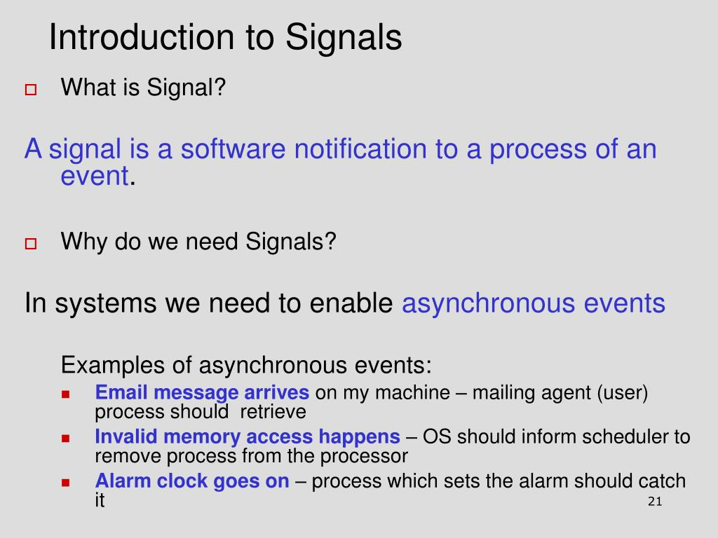 Introduction to Signals