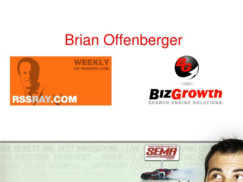 Brian Offenberger