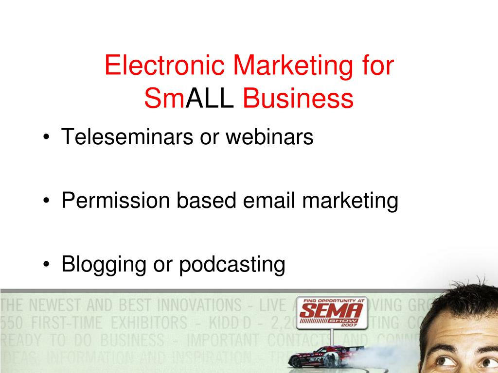 Electronic Marketing for