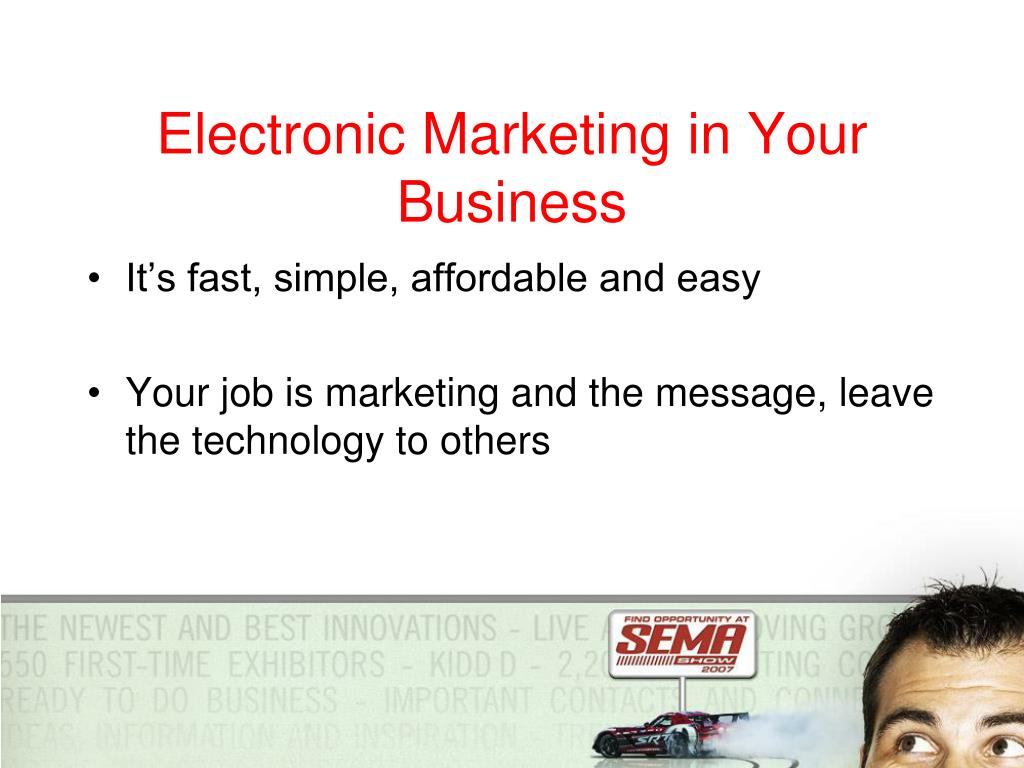 Electronic Marketing in Your Business