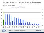 expenditure on labour market measures