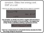 relation between equilibrium constant gibbs free energy and emf of a cell8
