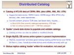distributed catalog