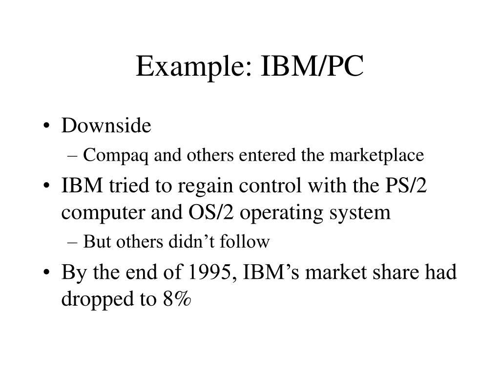 Example: IBM/PC