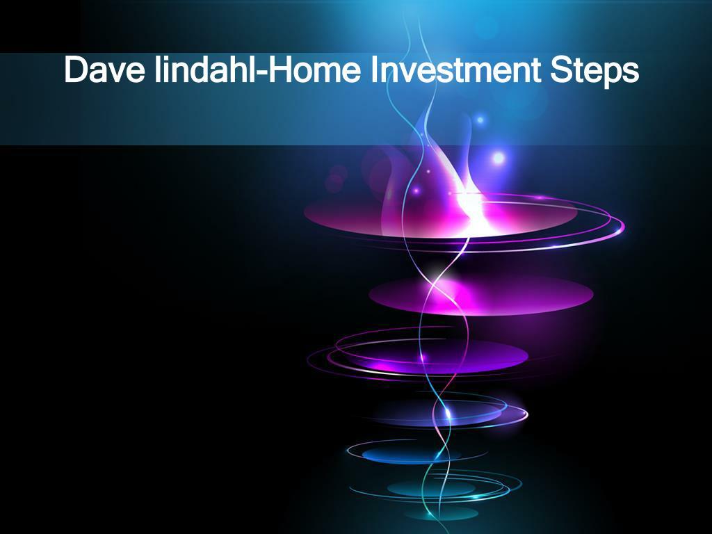 dave lindahl home investment steps l.