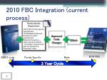 2010 fbc integration current process