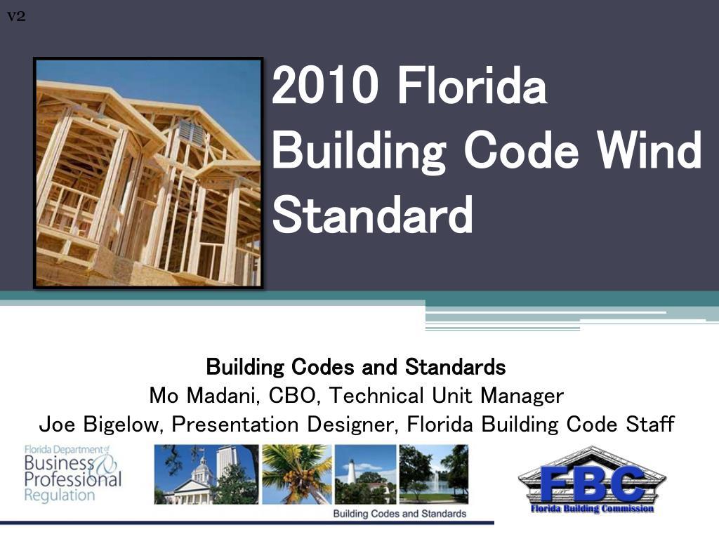 2010 florida building code wind standard l.