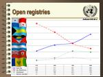 open registries