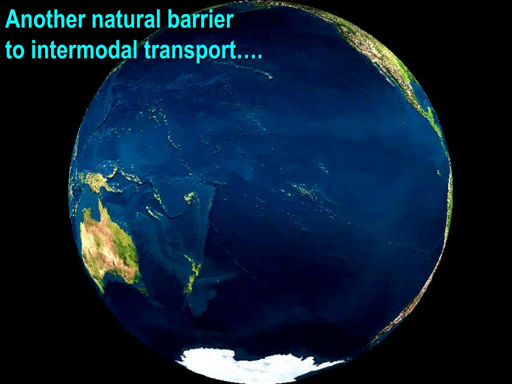 Another natural barrier