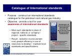 catalogue of international standards