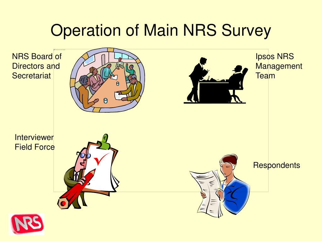 Operation of Main NRS Survey
